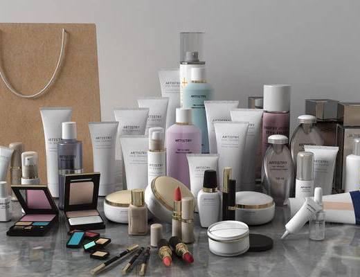 化妆品, 现代