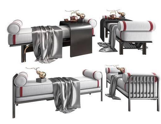 沙发脚踏, 床尾凳
