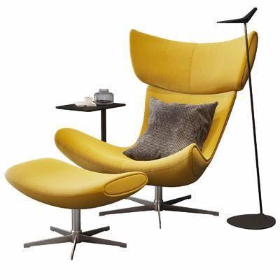 現代, 沙發椅, 單椅