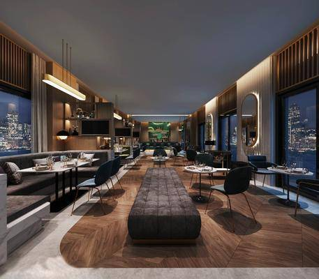 現代餐廳, 桌椅組合