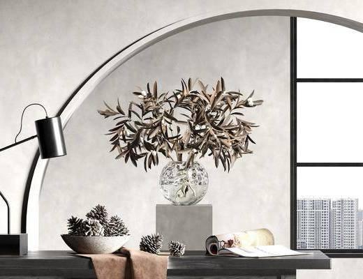 花艺, 植物, 摆件, 装饰品