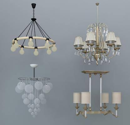 吊灯, 欧式吊灯, 现代吊灯, 灯具, 灯
