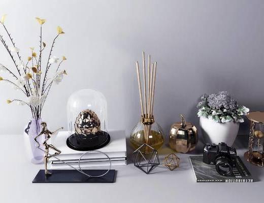 摆件组合, 饰品, 装饰品, 花瓶