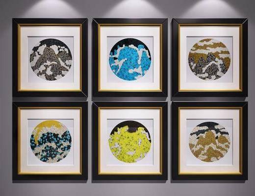 新中式裝飾畫, 裝飾畫, 掛畫