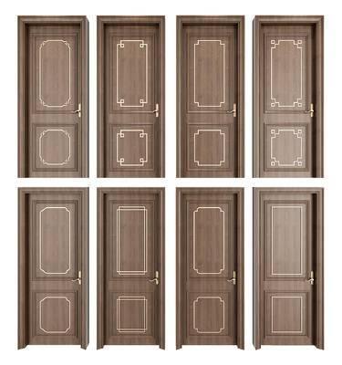 新中式, 门窗, 单开门