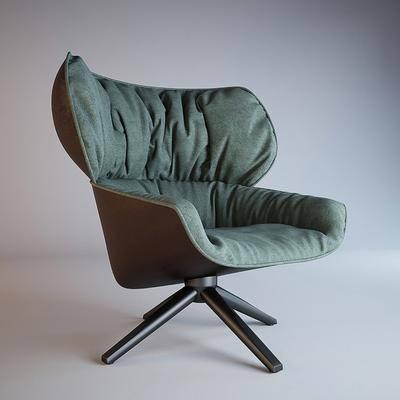 单人沙发, 休闲椅, 单椅, 沙发椅, 现代