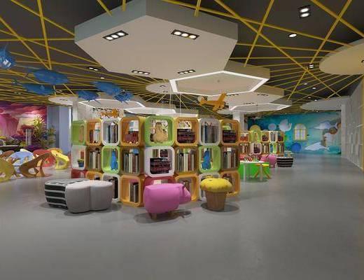 现代幼儿园, 幼儿园, 教室