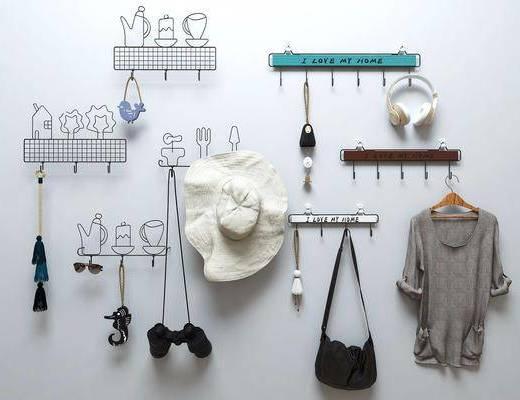 挂件, 衣挂, 衣架, 现代