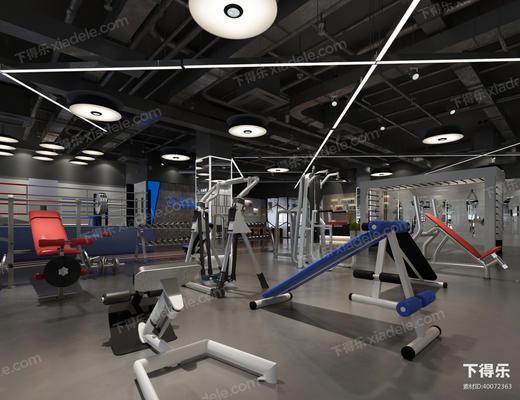 健身房, 健身室, 健身器材