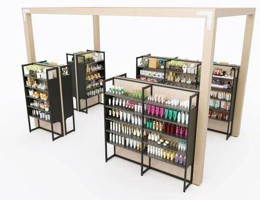 化妆品, 货架, 组合