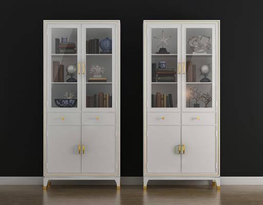 书柜, 置物柜, 柜架组合