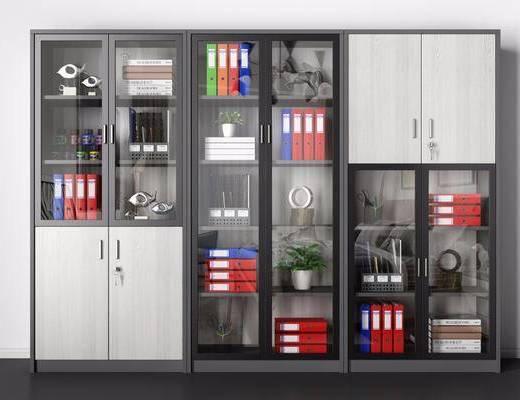 办公柜, 文件柜, 书籍
