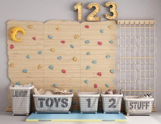 现代, 玩具墙, 组合