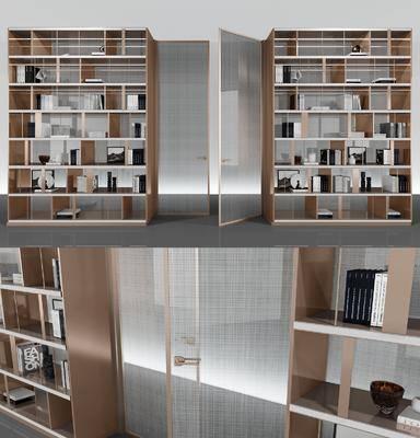 柜架組合, 書籍, 隔斷