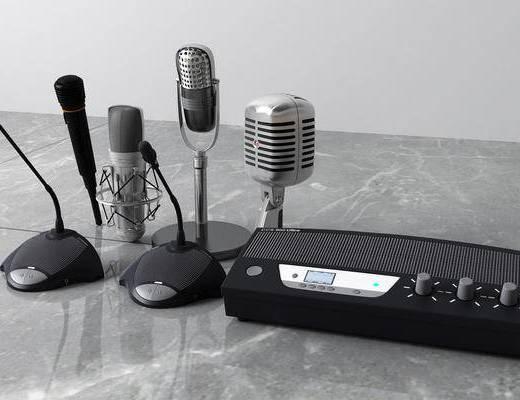 现代KTV会议话筒