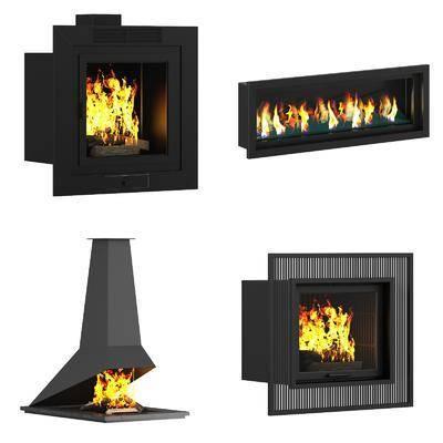 壁炉, 现代