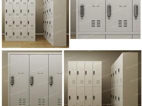 更衣柜, 储物柜, 柜, 密码柜, 现代