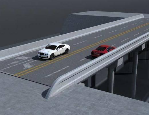 桥, 汽车, 现代