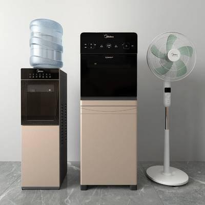 饮水机, 电风扇, 电器