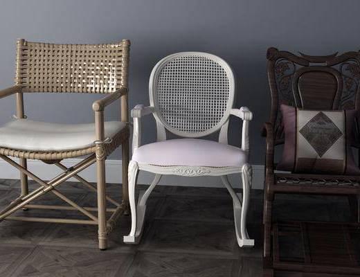 现代休闲椅, 休闲椅, 单椅