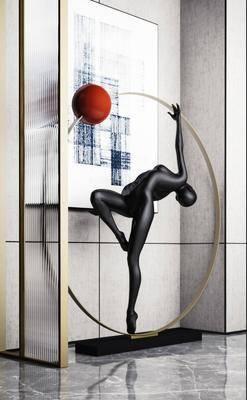 雕塑, 雕刻, 装饰品, 摆件