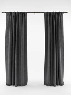 窗帘, 纯色窗帘, 卧室窗帘, 客厅窗帘, 简约窗帘, 简约, 现代