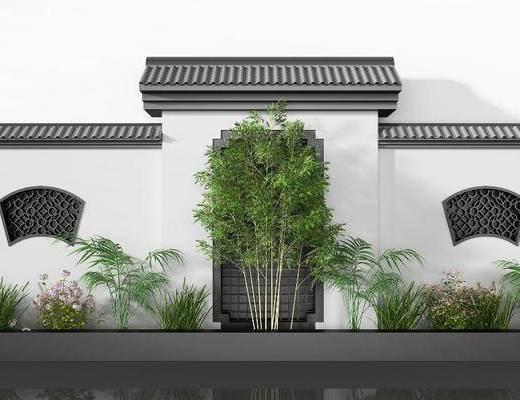 中式建筑, 建筑墻, 古建
