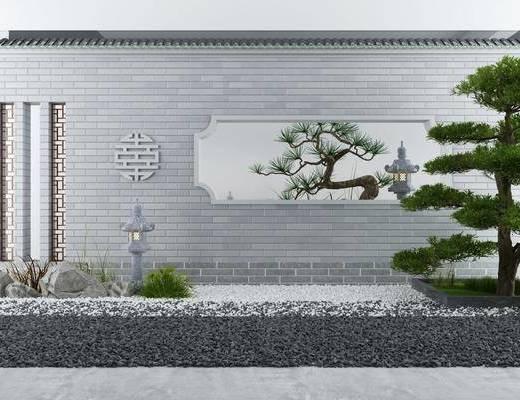 中式园艺, 园艺小品, 景观