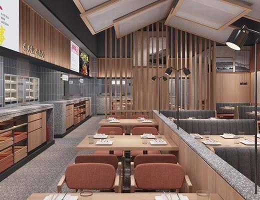 餐廳, 桌椅組合, 卡座