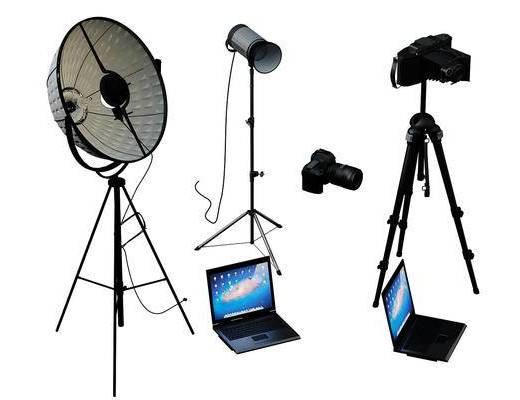 电脑, 电器, 摄像机, 现代