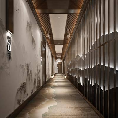 走廊, 新中式走廊