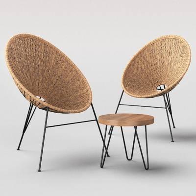 单椅, 藤椅, 休闲椅