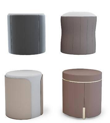 现代圆形凳子, 圆墩, 坐凳
