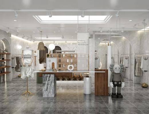 现代服装店, 工装