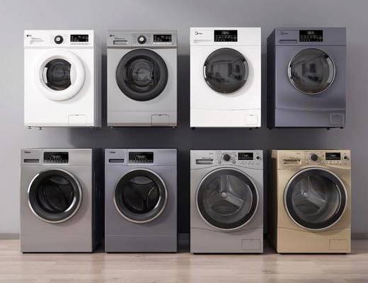 现代, 洗衣机, 烘干机