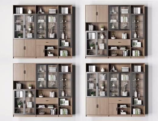 书柜, 北欧书柜, 书籍