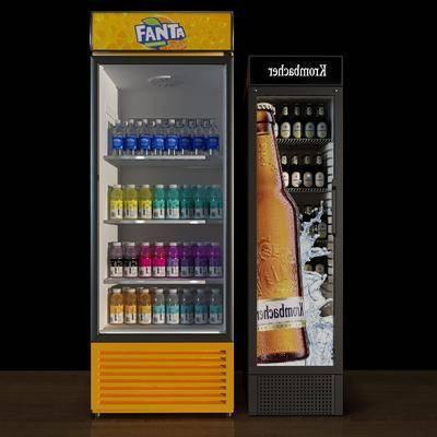 冰柜, 冰箱, 饮料柜