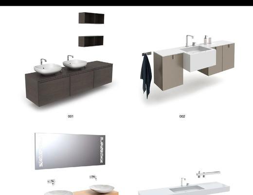 卫浴, 洗手台, 便器, 淋浴间, Evermotion, Archmodels