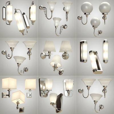 现代壁灯组合, 现代, 壁灯