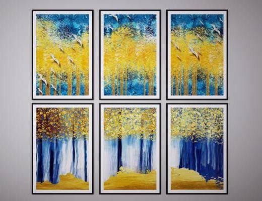 抽象画, 挂画, 装饰画