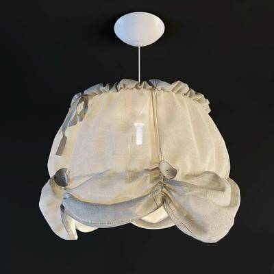 吊灯, 布艺, 灯, 装饰灯, 灯具, 现代, 北欧