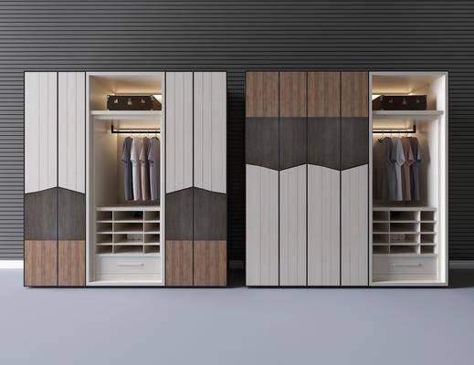 衣柜, 储物柜, 衣服, 箱子