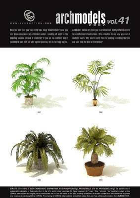 盆栽, 植物, Evermotion, Archmodels, EV, EvermotionArchmodels