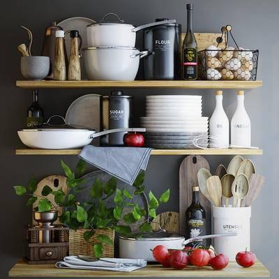 厨具, 餐具, 咖啡机, 用品, 鸡蛋, 西红柿, 食物, 厨房
