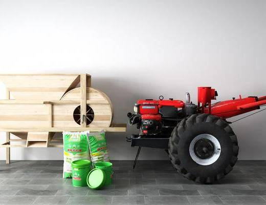 现代, 拖拉机, 单体
