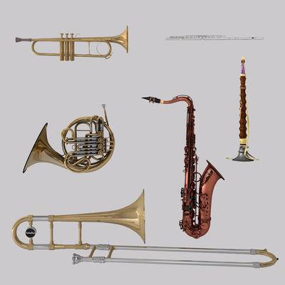 乐器, 萨克斯管, 铜管, 喇叭