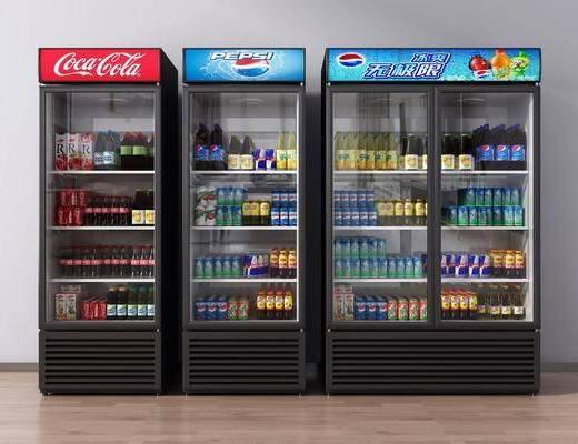 现代, 冷藏柜, 柜架, 组合