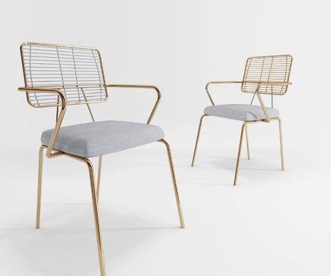 现代, 餐椅, 休闲椅