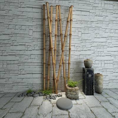 竹子, 干支, 装饰