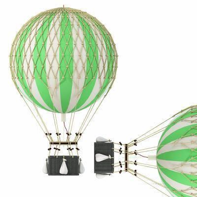 热气球, 现代热气球, 现代